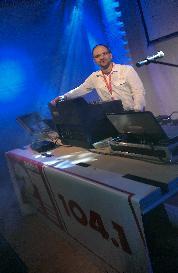 DJ Freydach auf der Kegelparty 2013 in Oldenburg